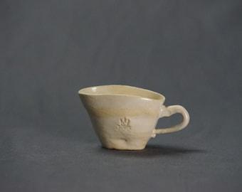 Small, White, Ceramic Creamer