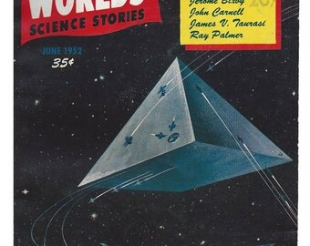 Other Worlds Science Stories June 1952 All Star Editor Issue