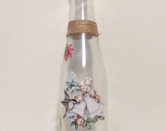 handicraft bottle Christmas
