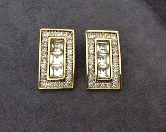 Vintage Valentino earclips