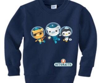 Octonauts Custom Sweatshirt (Colors)