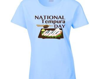 National Tempura Day Fun Food Celebration T Shirt