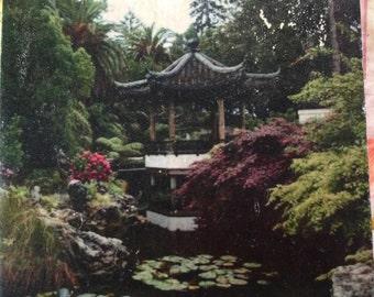 Tile Trivet, Pagoda Photo Trivet