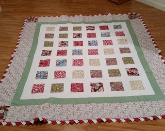 Christmas Quilted Throw