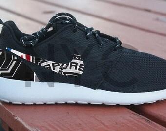 fvhis New York Giants Nike Roshe Run by NYCustoms on Etsy