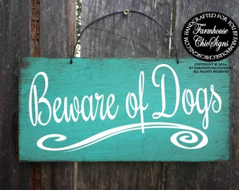 beware of dog sign, beware of dog, dog warning sign, front yard sign, dog sign, dog decor, beware of dogs, warning dog sign, 251/265