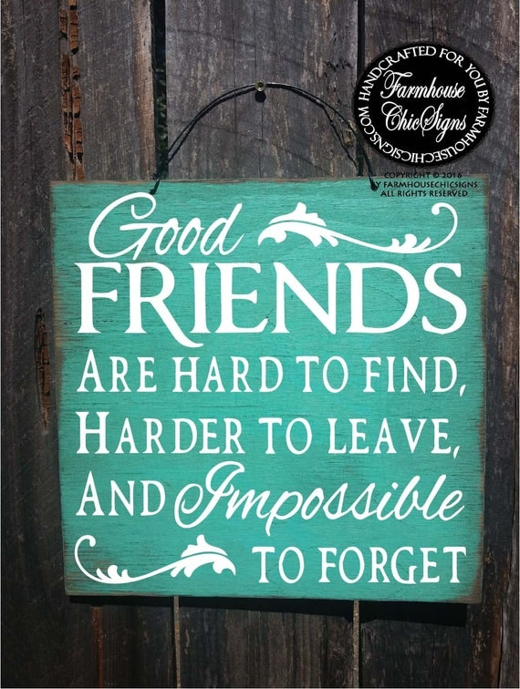best friend gift, gift for best friend, Good Friends Sign, Gift for friend, friendship, friendship gift, friendship, gifts for friends, 148