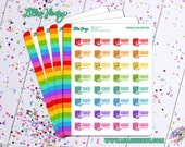 Cereal for Supper Planner Stickers by Lillie Henry! Bright, fun, and functional stickers perfect for planning your life!