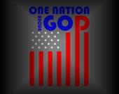 American Flag Car Decal -...