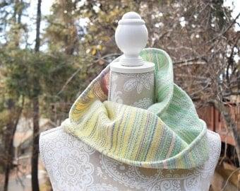 Pixie Dust Infinity Cowl (#3 cotton/superwash wool)