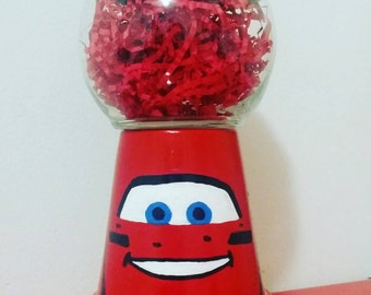Lightning McQueen Party Centerpiece
