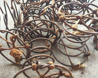 12 Rusty Springs from 1940s Chair Mixed Media Art Supply Photo Prop