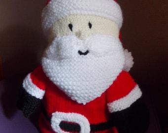 Hand knitted Santa toilet roll holder, loo roll holder, bog roll holder, toilet tissue, bathroom accessory, gift, christmas gift