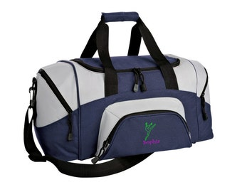 Dance Gym Bag - Personalized - Monogrammed - Embroidered - Sports Bag - Sports Gift - Dance_2 Duffle Bag - BG99