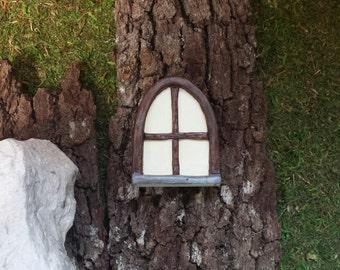 Window for fairy house, fairy gardens