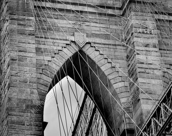 Black and White, New York City Photography, Brooklyn Bridge, Fine Art Photography, NYC Pictures, Brooklyn