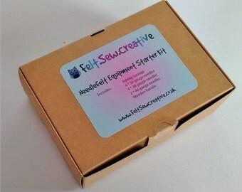 Needle felting starter kit felting tool equipment starter kit