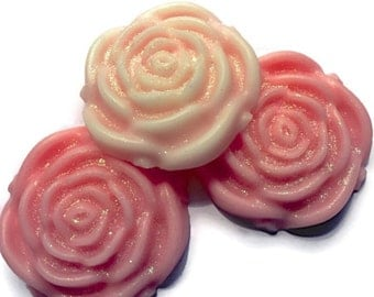 Classic Rose Wax Melts by House Warming Wax Melts, soy melts, rose shaped wax melts