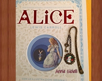 Bookmark Alice in Wonderland/bookmark/accessories books/Alice