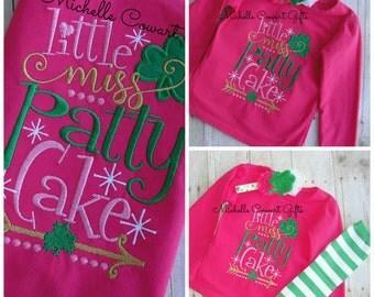 St. Patrick's day Shirt, St Patty's Shirt, St Patrick Shirt, Toddler Shirt, Girls Shirt, headband, Photo Op, Onesie Available, Baby