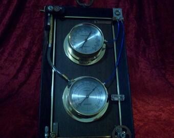 "Steampunk ""Aether Meter"""