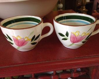 "Stangl ""Country Garden"" Cups (2)"