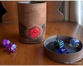 Dice Cup, Customizable Carrier & Roller of Game Dice