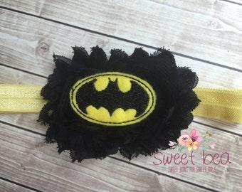 Batman inspired Headband