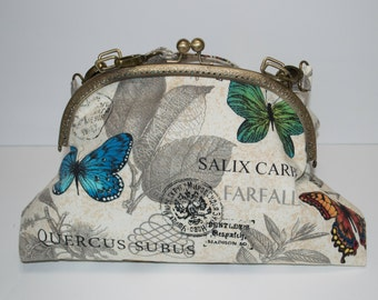 Butterfly Pocket Book/Clutch