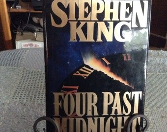 Four Past Midnight by Stephen King, TRUE First Edition/First Printing hdbk