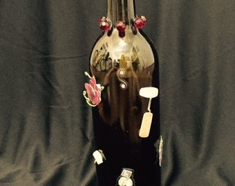Wine Bottle decor