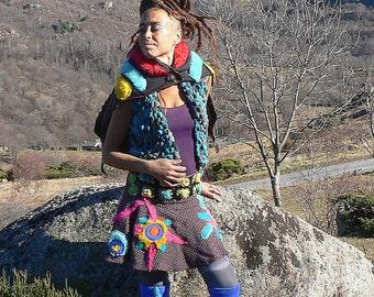 winter colorful leggings