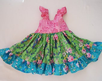 Girls Twirly Dress