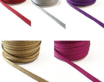 Single 7 mm satin stripes. Price per metre.