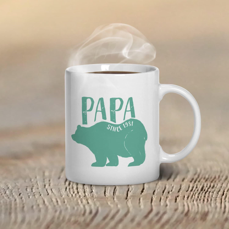 papa bear mug new dad gift new dad mug dad mug by gulfroad