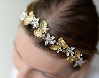 Hair accessories - flower wreath for wedding