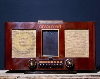 Bluetooth - 1939 - Vintage radio - A.BSOLUMENT - BM010
