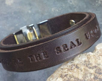 FREE SHIPPING-Personalized Bracelet, Mens Bracelet, Bracelet For Men, Leather Bracelet, Engrave Men Bracelet,Cuff Bracelet, Men Custom Gift