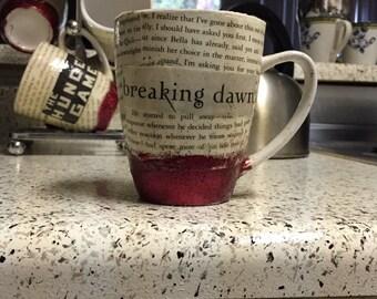 Breaking Dawn Book-Page Mug