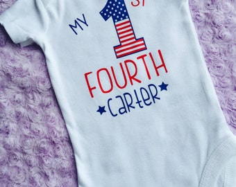 Baby Fourth of July. Baby boy 4th of July. First Fourth of July. Baby's first Fourth of July. Baby boy.