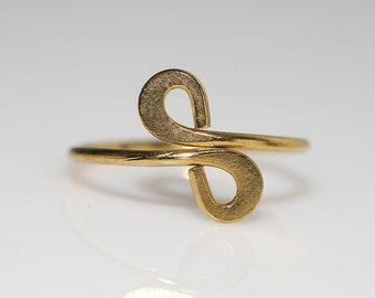 Modernist Infinity Ring