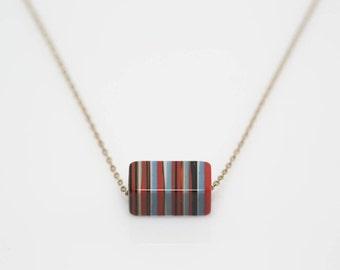Single Stripe Necklace