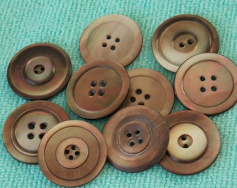Mother Of Pearl Buttons  Set of MOP Buttons   B256