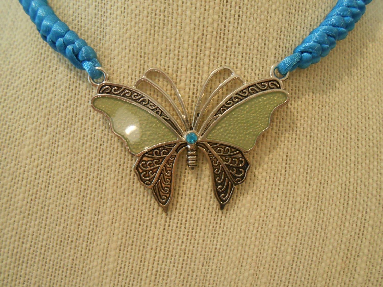 Blue Butterfly Jewelry: Blue Butterfly Jewelry Set