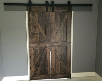 Custom Farmhouse Rustic Sliding Barn Door **Made to Order**