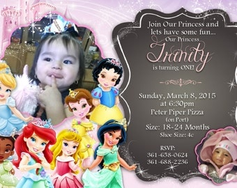 Little Princess Invitations