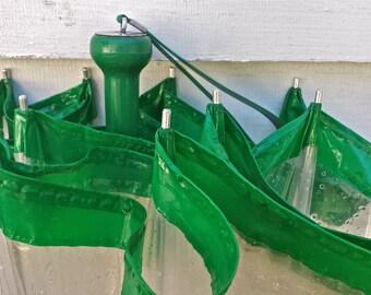 Clear Vinyl Umbrella Vintage Plastic Umbrella