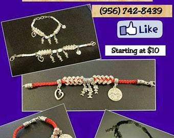 Unique Crystal Children's Charm Bracelet