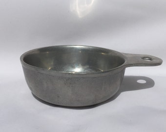 Vintage Pewter Porringer Bowl 18 oz Made In Wilton Columbia, Pa Usa