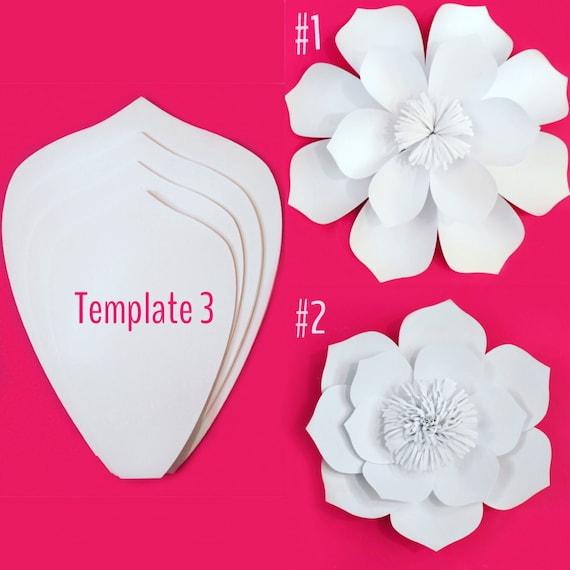 Paper Flower Template DIY Kit SALE